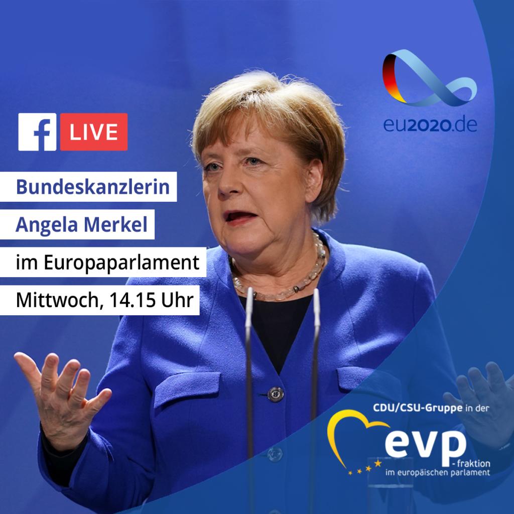 Heute Merkel Rede
