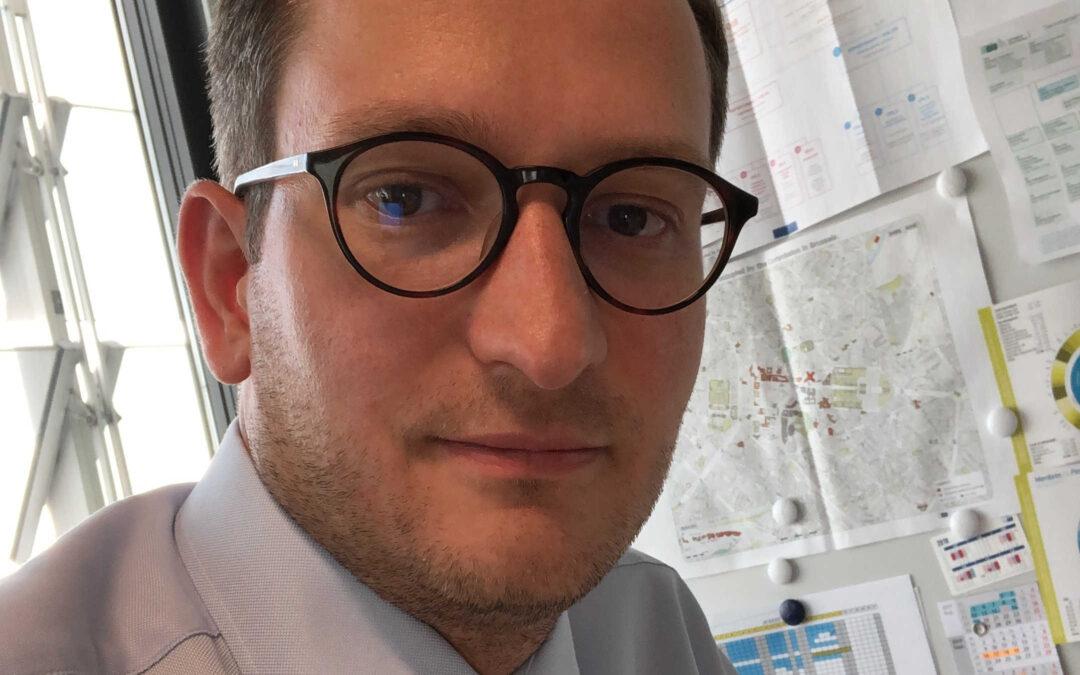 Johannes Haenicke, Pressesprecher der CDU/CSU-Gruppe im Europäischen Parlament