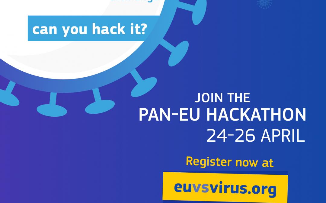 Jetzt mitmachen: Europäischer Hackathon vom 24. bis 26. April 2020