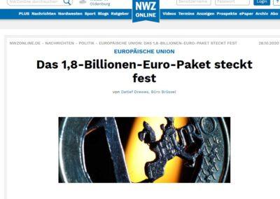 Das 1,8-Billionen-Euro-Paket steckt fest