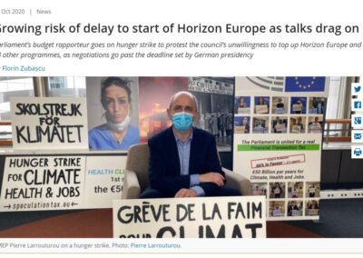 Growing risk of delay to start of Horizon Europe as talks drag on