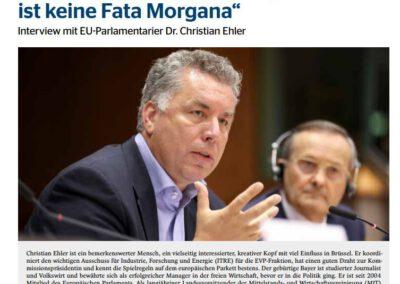 """""""Die Europäische Modellregion ist keine Fata Morgana"""""""