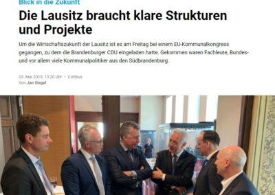 Die Lausitz braucht klare Strukturen und Projekte