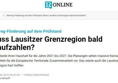 Muss Lausitzer Grenzregion bald draufzahlen?