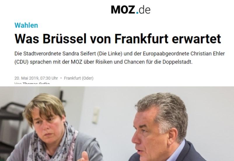 Was Brüssel von Frankfurt erwartet
