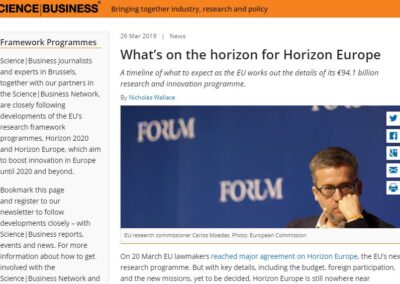 What's on the horizon for Horizon Europe
