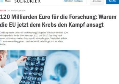 120 Milliarden Euro für die Forschung: Warum die EU jetzt dem Krebs den Kampf ansagt
